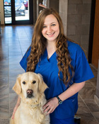 Abby Crownshaw, Veterinary Technician, Willow Oak Veterinary Hospital