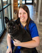 Allison Gentry, Receptionist, Willow Oak Veterinary Hospital